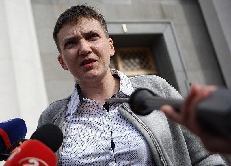 Савченко озвучила свое мнение позакону оДонбассе