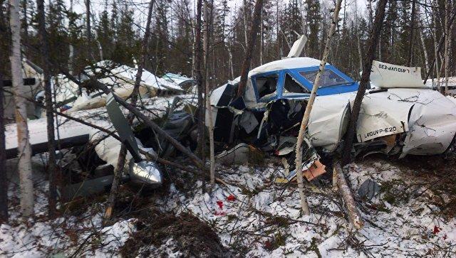 Всети интернет размещено первое фото разбившегося вХабаровском крае самолета