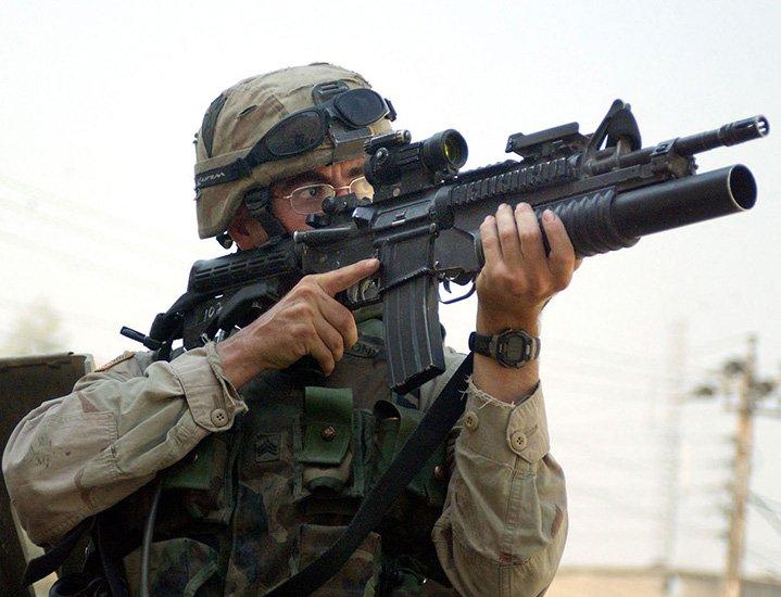 В США началась торговля гражданскими подствольными гранатометами