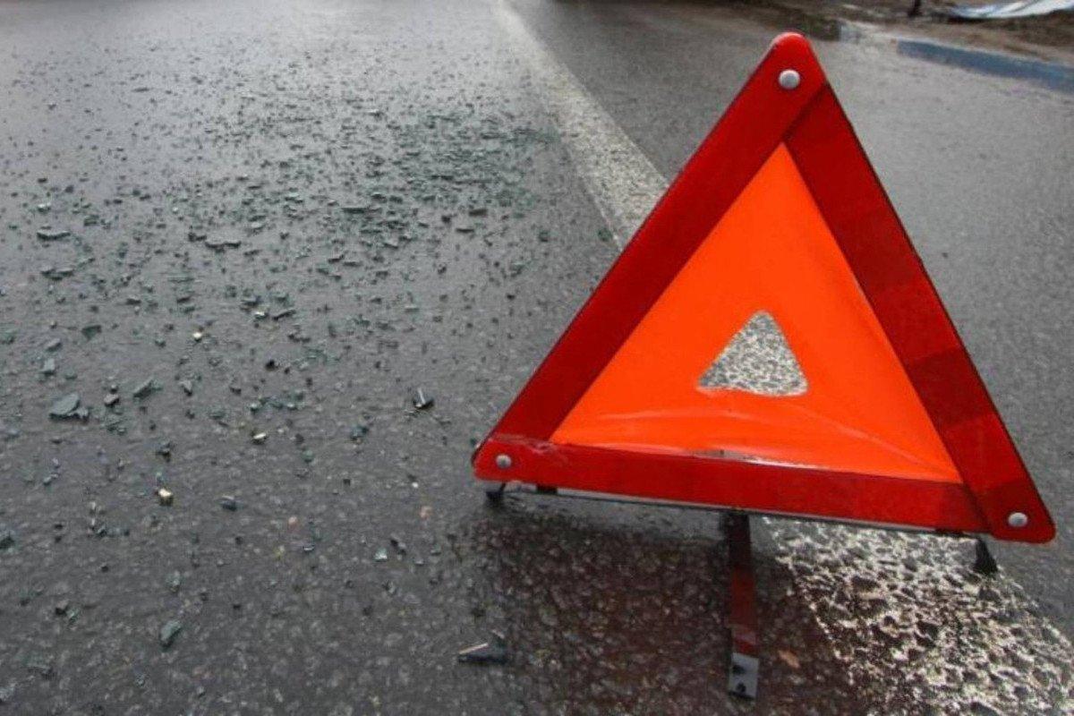 В Петербурге из-за аварии на КАД образовалась пробка