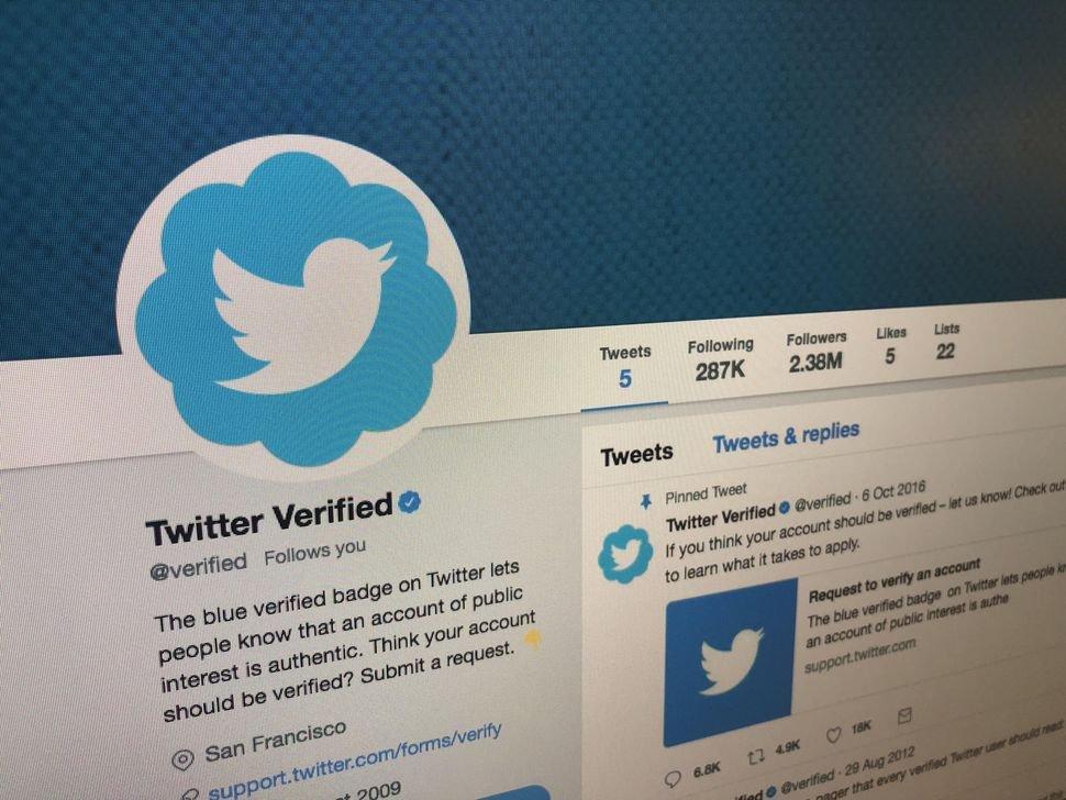 Twitter работает над новой программой верификации подлинности аккаунта