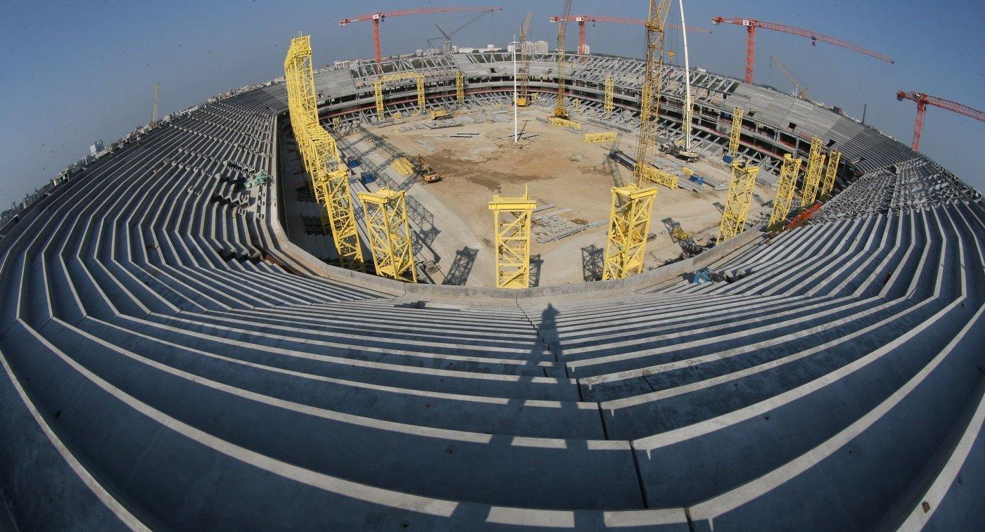 Леонид Ставицкий: строительная готовность стадиона вКалининграде составляет 89%