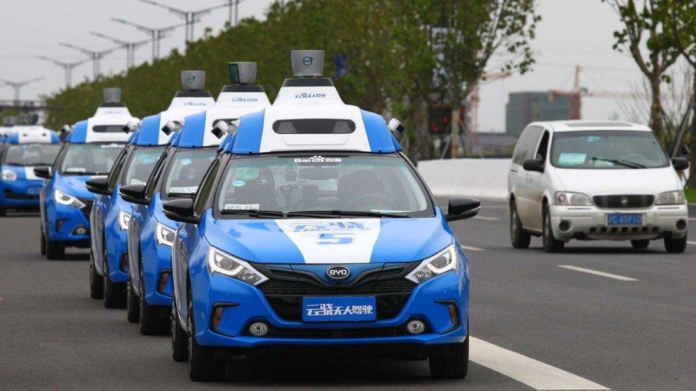 ВКитайской республике через год стартует массовое серийное производство беспилотных авто