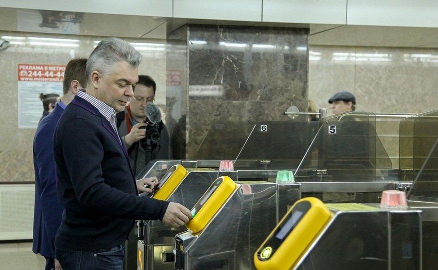 В столице России безналичной оплатой вметро пользуются 33% пассажиров