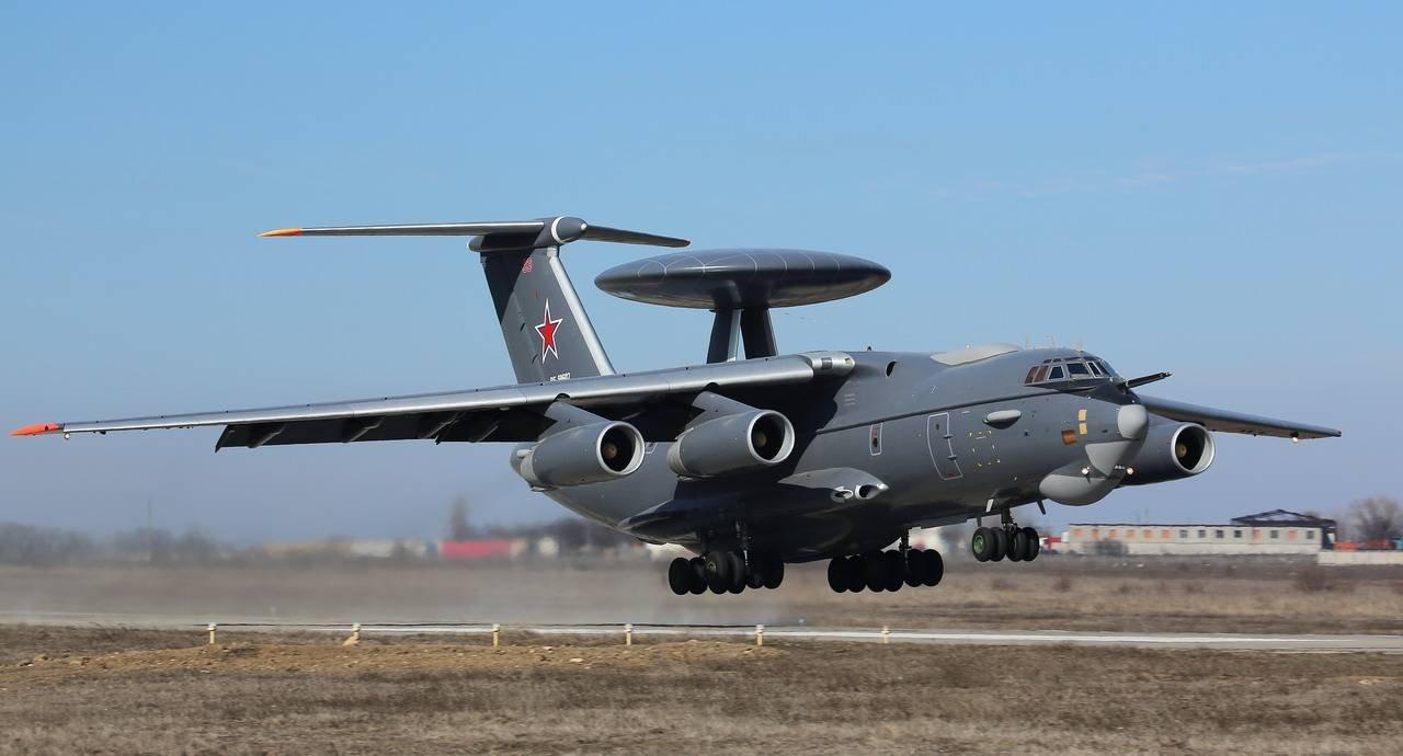Новый радиолокационный самолет А-100 провел свой первый вылет