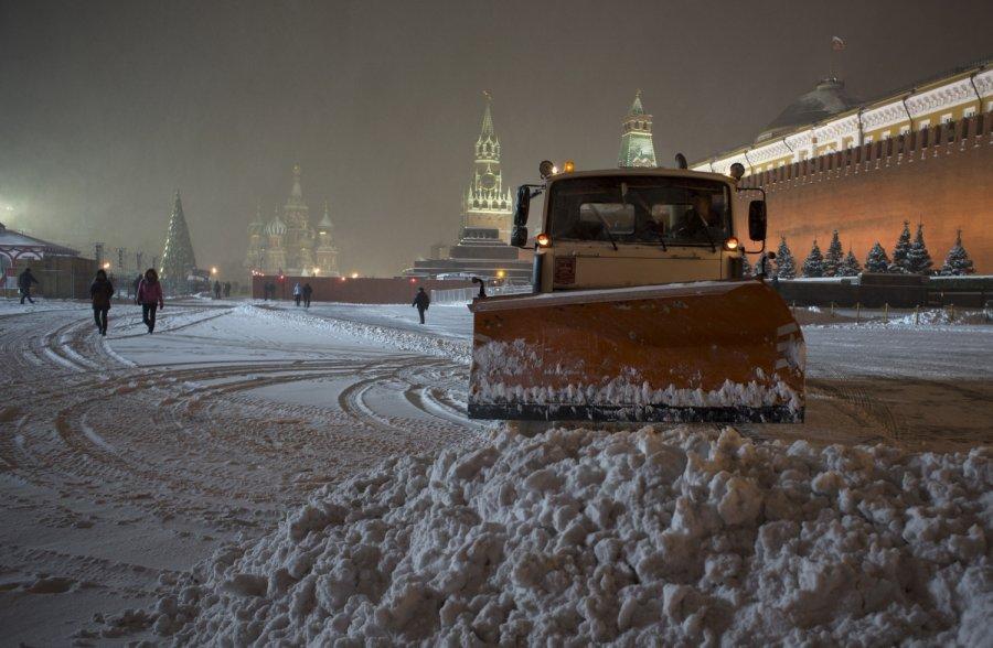 Центр столицы перекроют из-за подготовки кновогодним праздникам