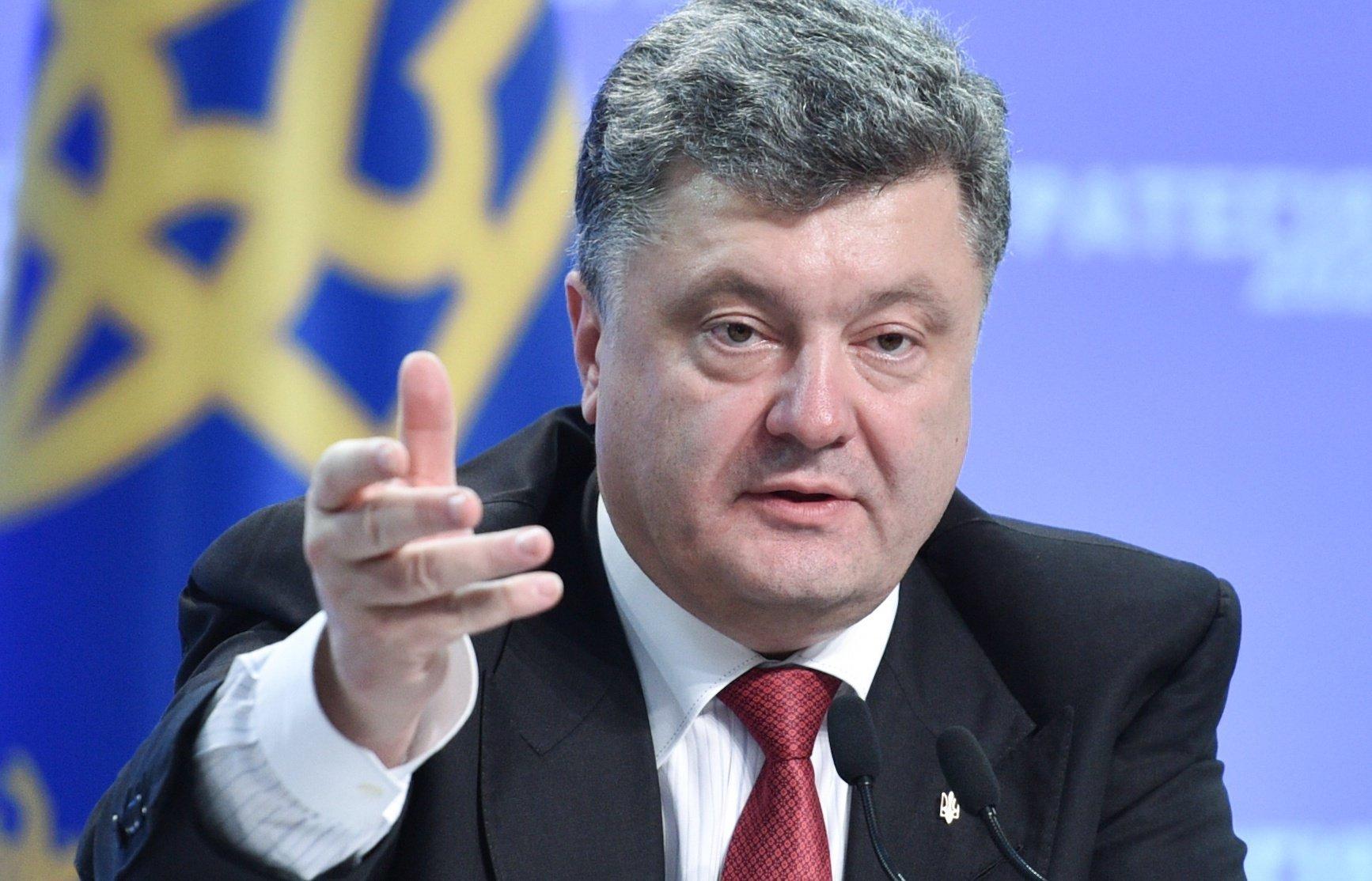 Порошенко заявил, что Украина - космическая держава