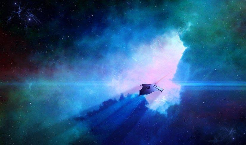 Жители Лонг-Айленда стали свидетелями полета НЛО в фиолетовом свете
