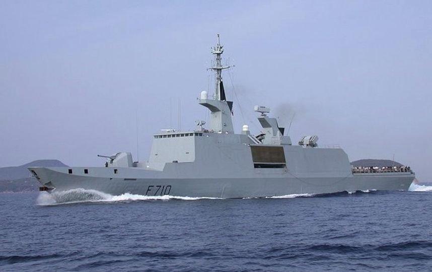 В Крыму увидели на радарах фрегат НАТО