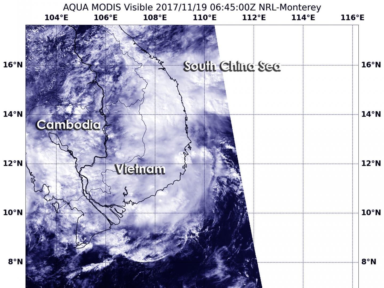В NASA зафиксировали места рассеивания урагана