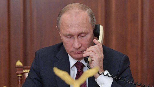 21 ноября Путин проведет телефонные переговоры с Трампом