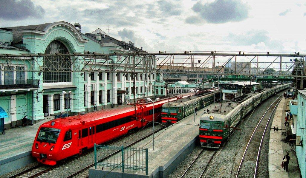 Первые платформы трамвая венского типа появились в Москве