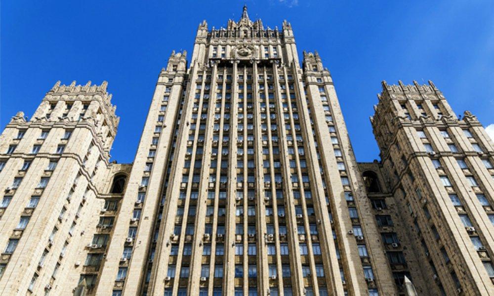 МИД РФ осудил Киев за то, что он не способен найти осквернивших «Вечный огонь»