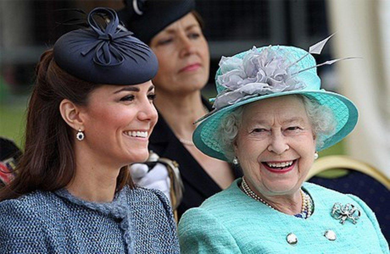 На юбилей королевы Кейт Миддлтон надела колье принцессы Дианы