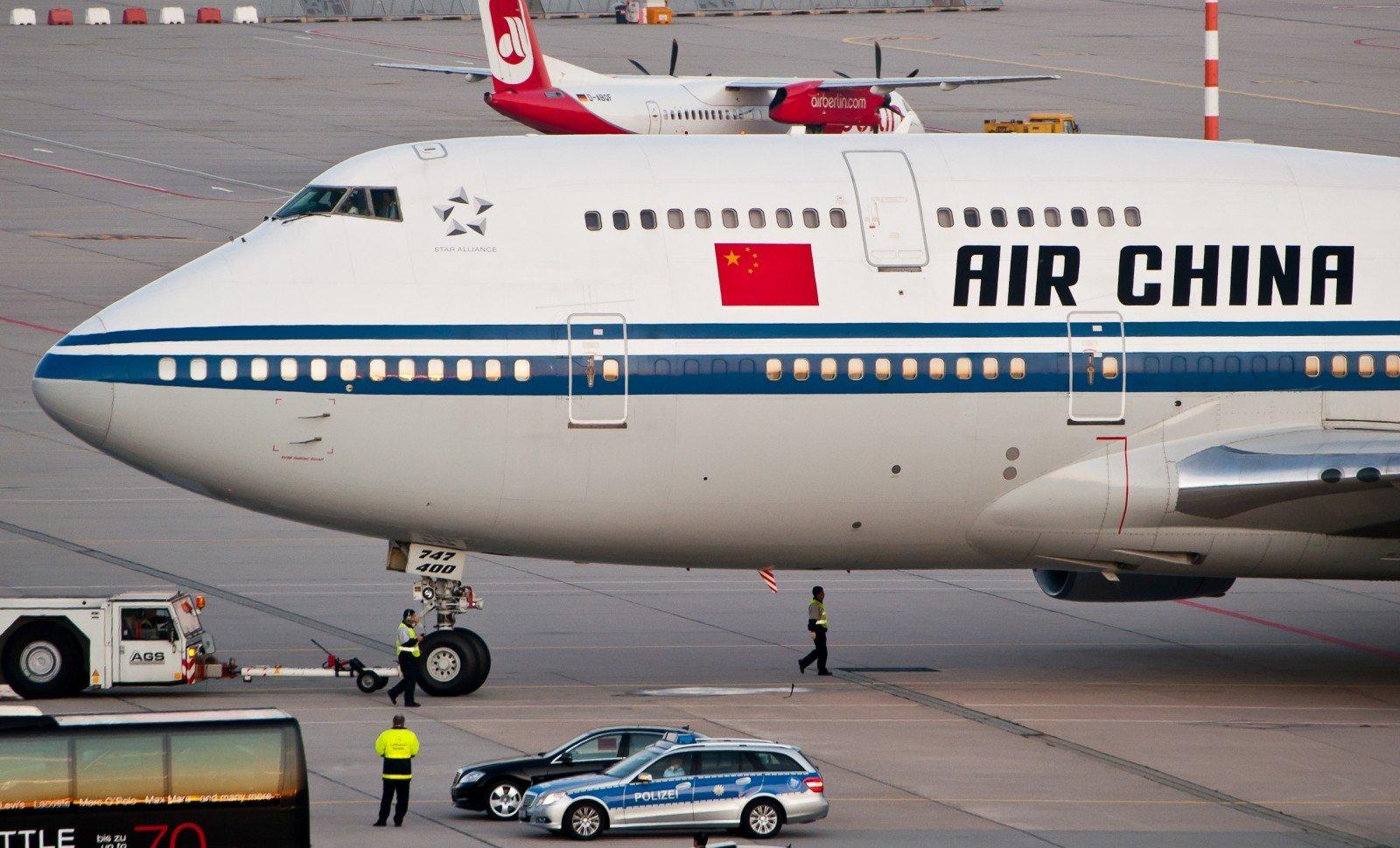 Авиакомпания Air China временно прекратила полёты в КНДР