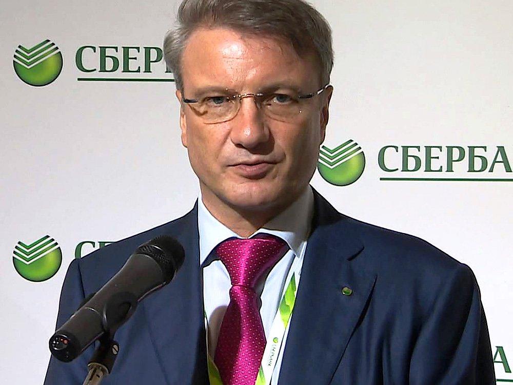 Герман Греф заявил об отсутствии у него политических амбиций