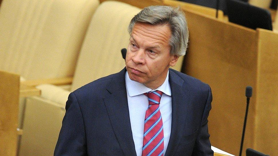 Сенатор Пушков рассказал о защитных функциях закона о СМИ-иноагентах