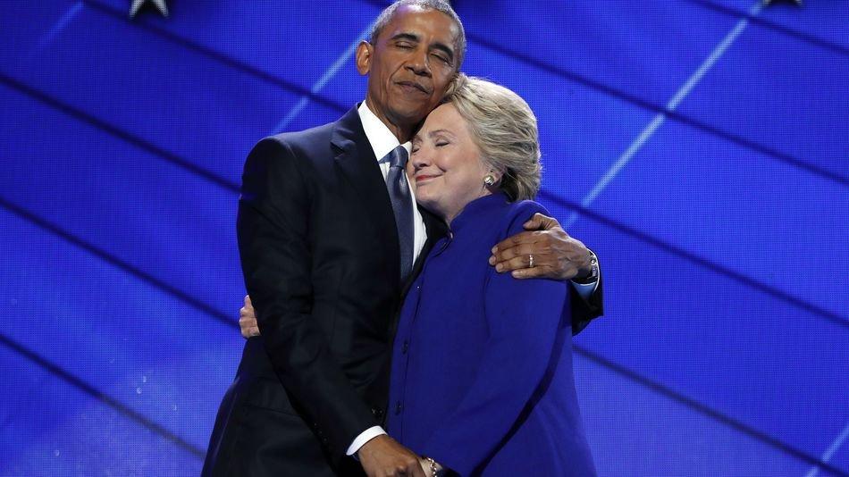 Клинтон нашла вину Обамы в своем поражении на выборах