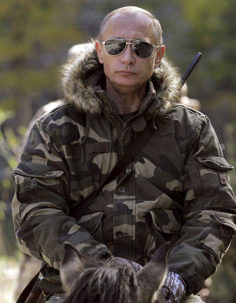 В Британии календари со снимками Путина пользуются огромным спросом