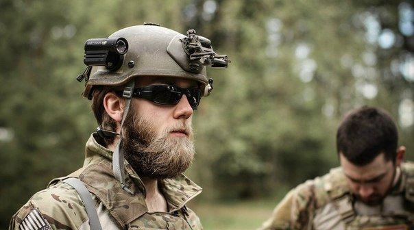 Украинским военнослужащим разрешили носить усы и бороды
