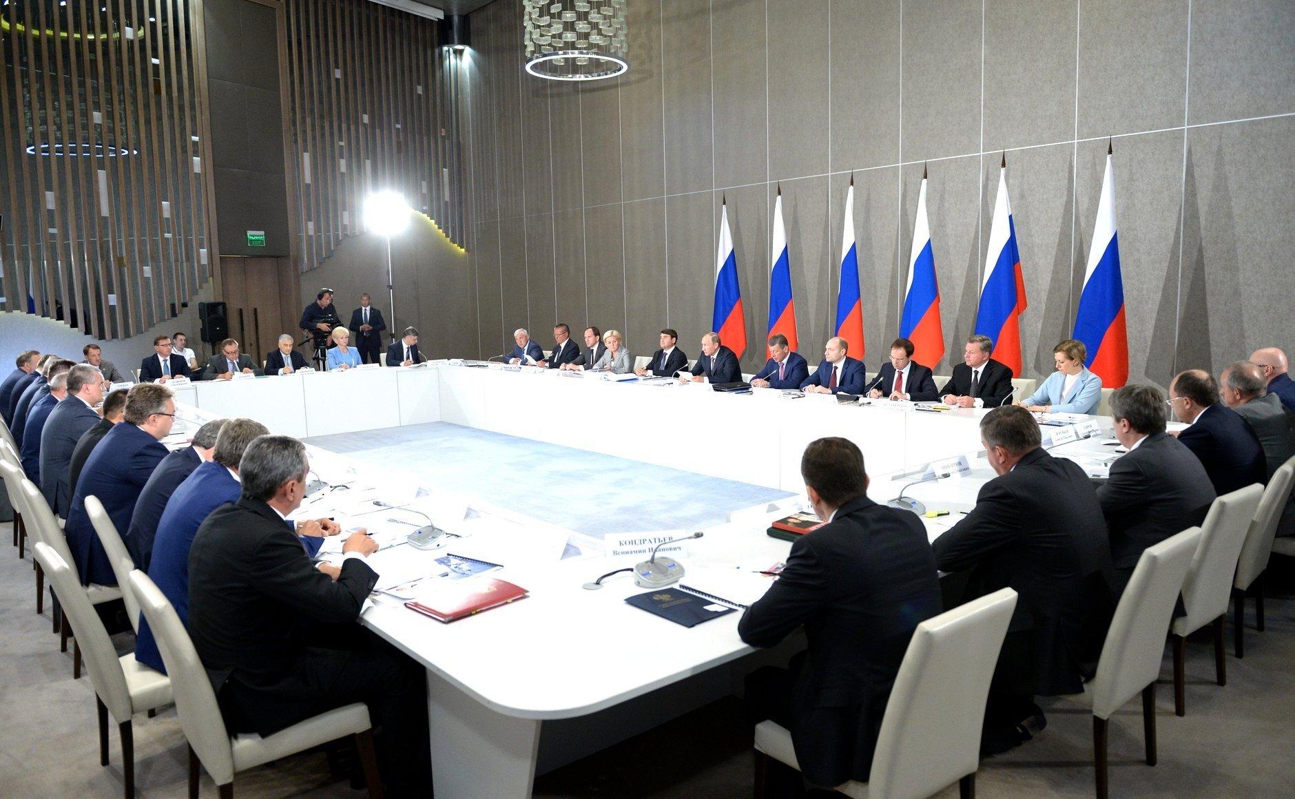 Путин заменил состав президиума Госсовета