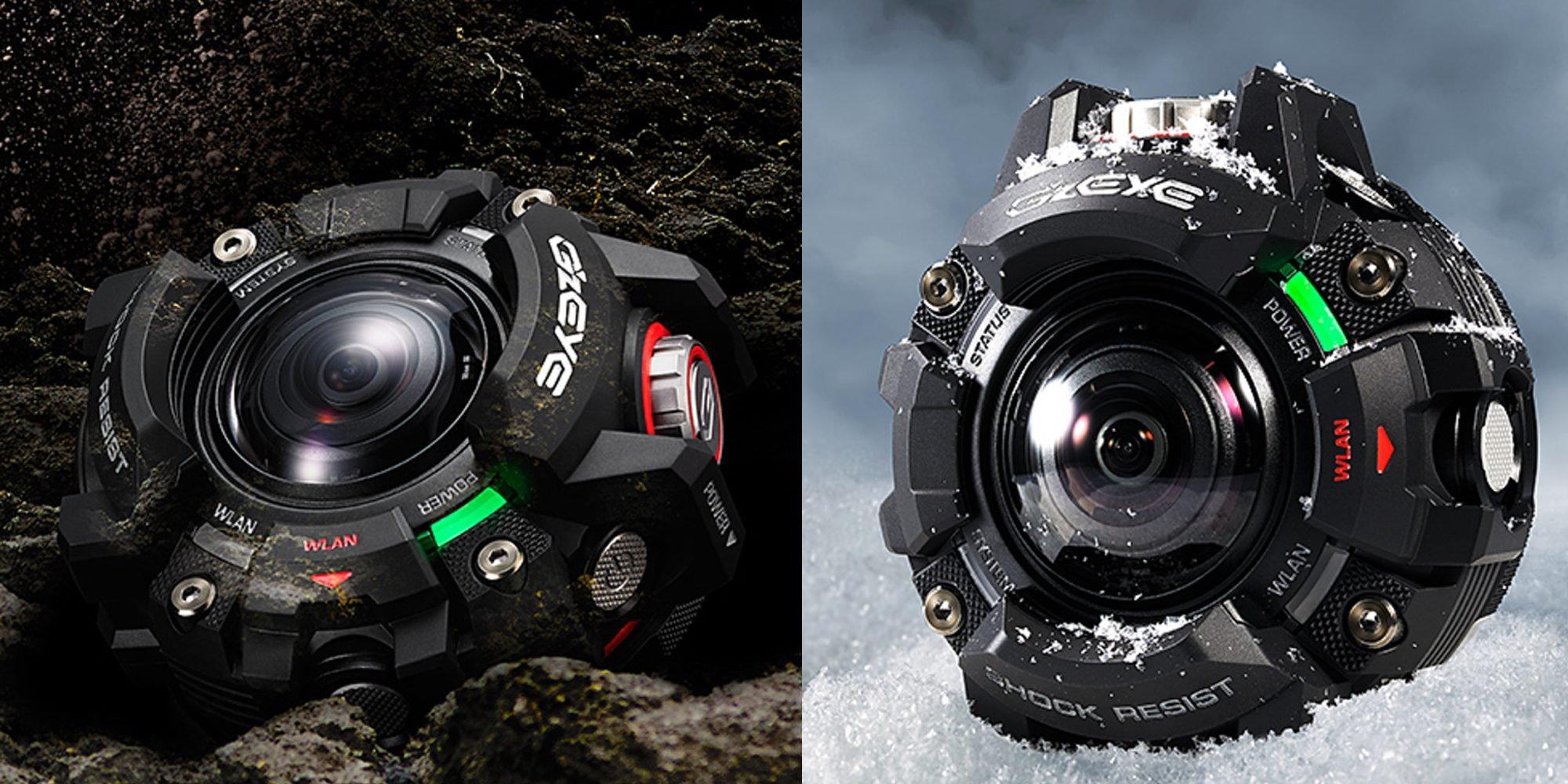 Casio выпустила неповторимую экшен-камеру встиле часов G-Shock