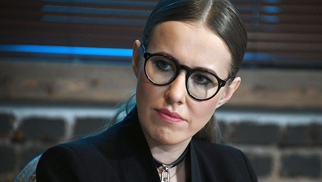 Ксения Собчак согласилась дать интервью Владимиру Соловьёву