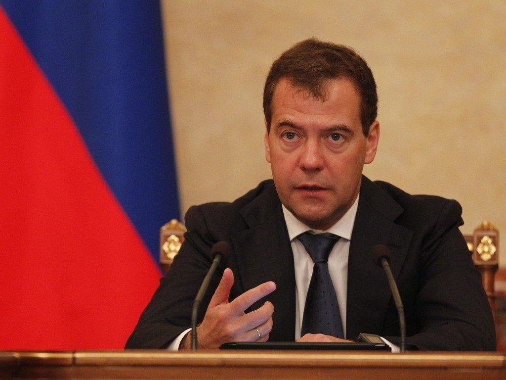 Медведев подведёт итоги года в интервью по телевидению 30 ноября