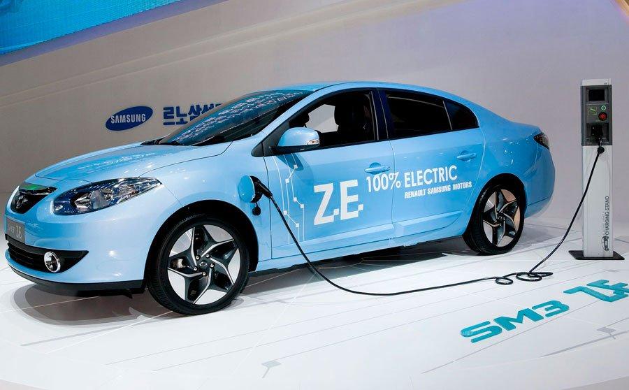 Улучшенный электроседан Рено Самсунг SM3 Z.E. официально вышел в реализацию