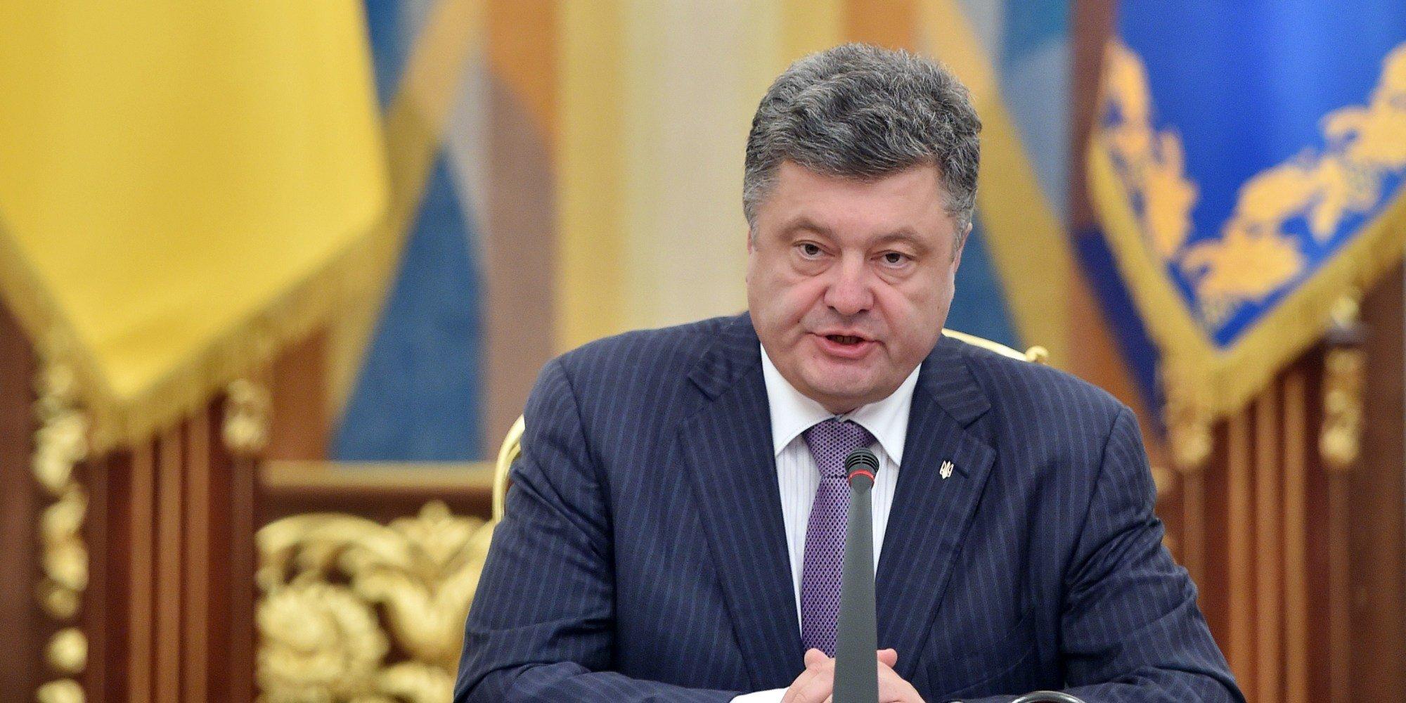Порошенко назвал голодомор геноцидом украинского народа