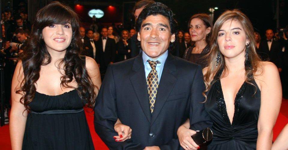 Диего Марадона потребовал арестовать собственную дочь
