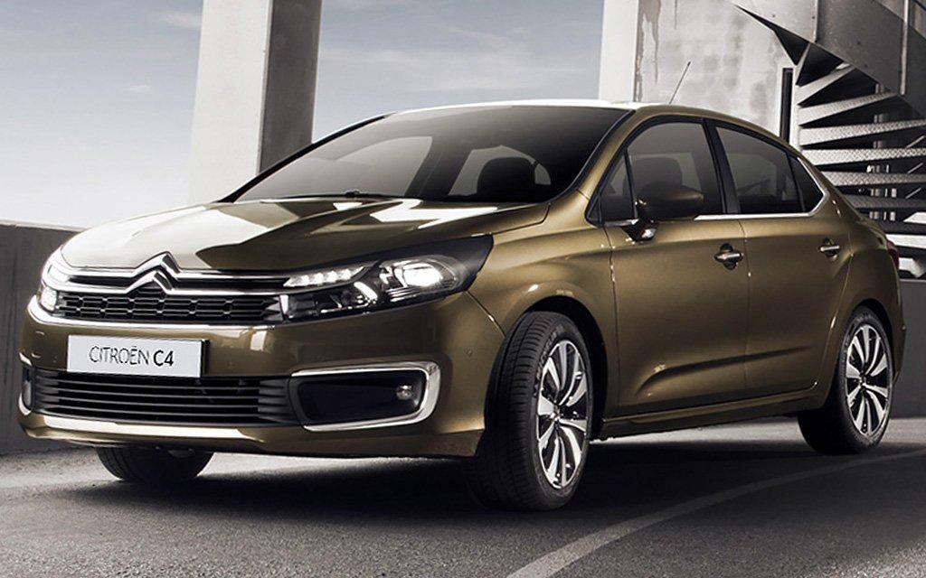 Ситроен  официально представил улучшенный  Ситроэн  C4 Sedan для Российской Федерации