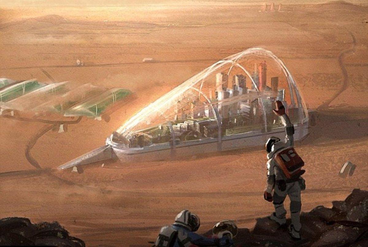 На Марсе построят город-лес