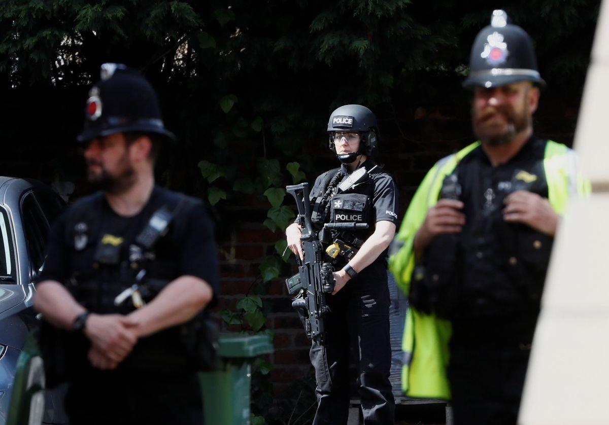 Британская милиция задержала подозреваемых втерроризме
