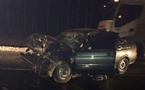 ВБашкирии шофёр Лада догнал попутный фургон, однако пострадал дальнобойщик