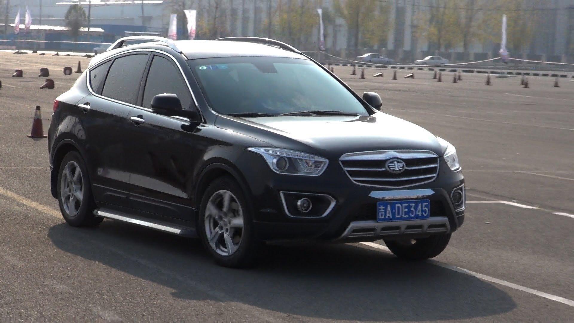 Китайцы обновили кроссовер FAW Besturn X80 для России
