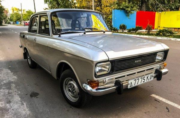 В Киеве найден редкий «Москвич-2140» 1984 года почти без пробега