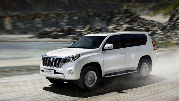 В России стартовали продажи обновлённого Toyota Land Cruiser Prado