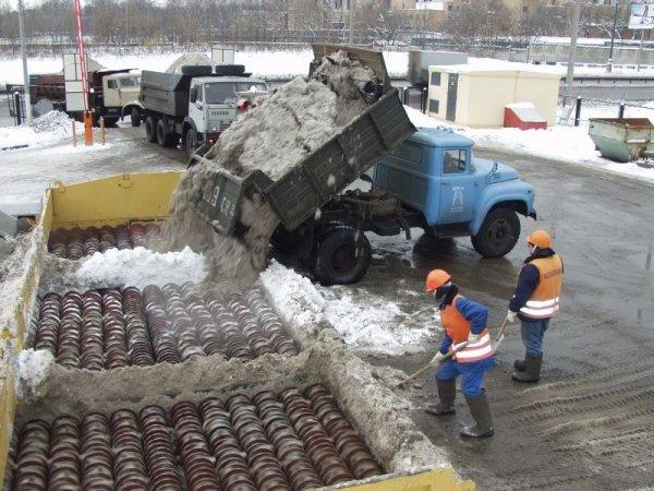 В Москве откроют новый комплекс по утилизации снега