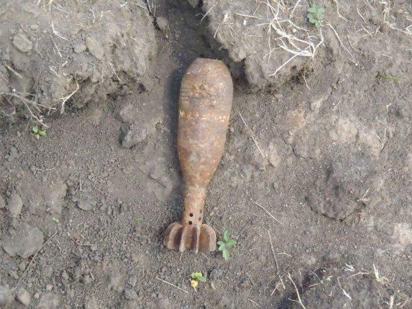 В центре Ростова-на-Дону нашли снаряд времен Великой Отечественной войны
