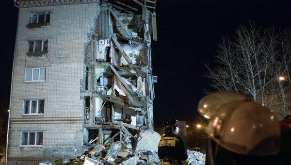 В Пензе частично рухнула многоэтажка