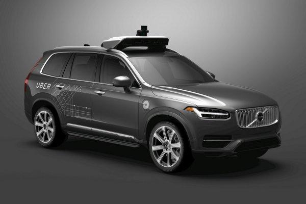 Volvo поставит Uber 24 000 беспилотных кроссоверов XC90
