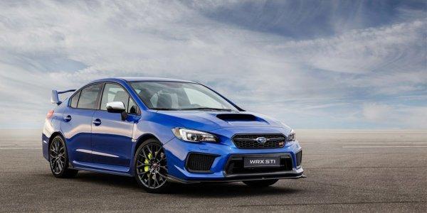 Subaru окончательно завершит европейские продажи седана WRX STI