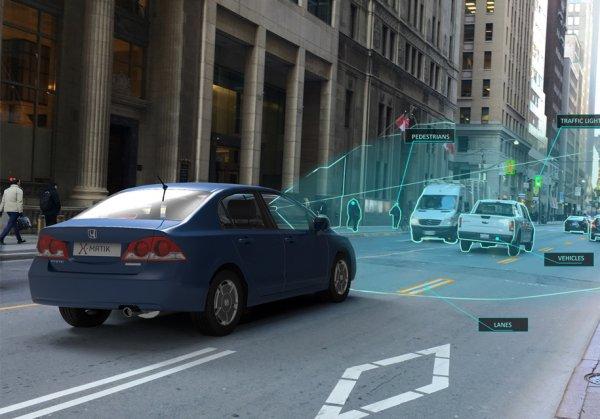 Стартап X-Matik превратит любую машину в беспилотник
