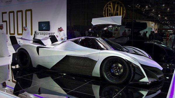 Составлен ТОП-3 самых быстрых автомобилей автосалона в Дубае