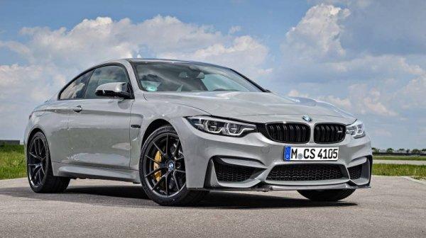 В сеть попал первый обзор нового седана BMW M4 CS