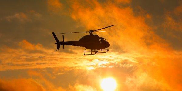 СМИ опубликовали видео с места крушения вертолета в Тамбовской области