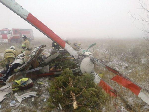 Установлены личности погибших в результате крушения вертолёта в Тамбовской области