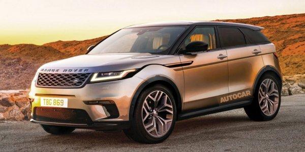 Озвучена дата презентации Land Rover Evoque нового поколения