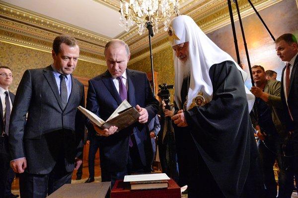 Владимир Путин поприветствовал участников Архиерейского собора РПЦ